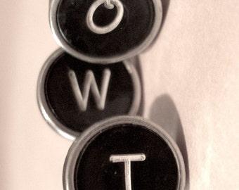 Vintage Typewriter Keys Antique Underwood Alpha key individual you pick letter Assemblage Altered Art Supply