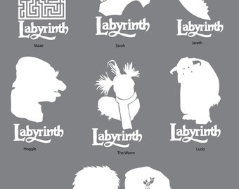 Labyrinth Decals