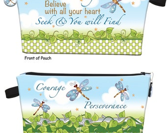 "Inspirational ""Believe with all your heart"" Pouch Kit"