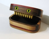 Creature Treasure Box Made Of Six Woods