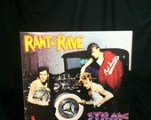 Vintage Vinyl Record 1983 Stray Cats Rockabilly Rant N' Rave With The Stray Cats