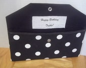 Personalized Label  ADD-ON for Bridesmaid Clutch / Fold Over Envelope Clutch