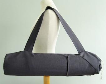 Yoga Gift for Men or Women. Yoga Mat Bags - Charcoal Grey. Best Seller Mens Yoga Bag. Yoga Mat Carrier. Yoga Mat Holder. Mens Fitness Gift