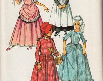 "Vintage Sewing Pattern 1960's Girl's Costume Dresses Simplicity 9136 28 1/2"" Bust"