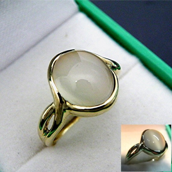 Aaa white moonstone cats eye cabochon 12x10mm carats for Cat s eye moonstone jewelry