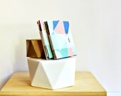 Notesets {5 sets} Embossed Square {Envelopes Notecards Seals} Mixed Geometric Chevron Gift Cards Party Thanks Housewarming Gift Under 5