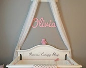 Crib Canopy, Gypsy bed crown ,Princess crib decor ,royal nursery wall bed crown, baby crib canopy, baby crib bed crown