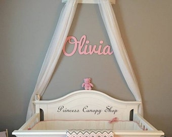 Crib Canopy, Gypsy bed crown ,Princess crib decor ,royal nursery wall bed crown, baby crib canopy, baby crib bed crown