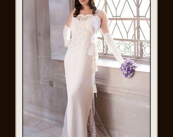 1930s WEDDING DRESS 'Bianca'