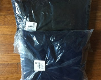 Black and Navy Tulle Lot - 10 yards each