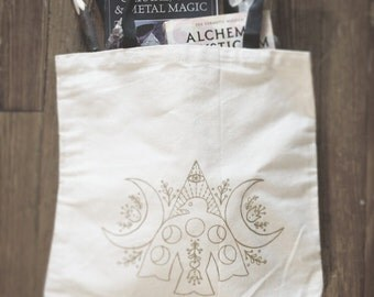 Moon and Spirit Tote Bag