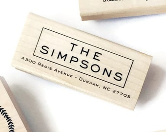 Return Address Stamp Style #8