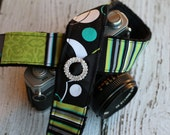 dSLR Camera Strap - Camera Strap - Geometric Camera Strap - Custom Camera Strap - Nikon Camera Strap - Padded Camera Strap - Gift for Her