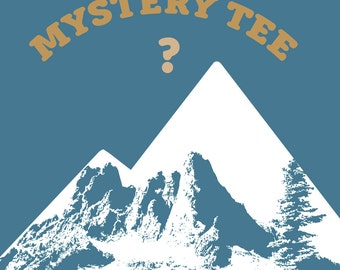 MYSTERY TEE! (ships free with another item) Mens or Women's Tshirt Tank or V-Neck Zen Threads custom custom