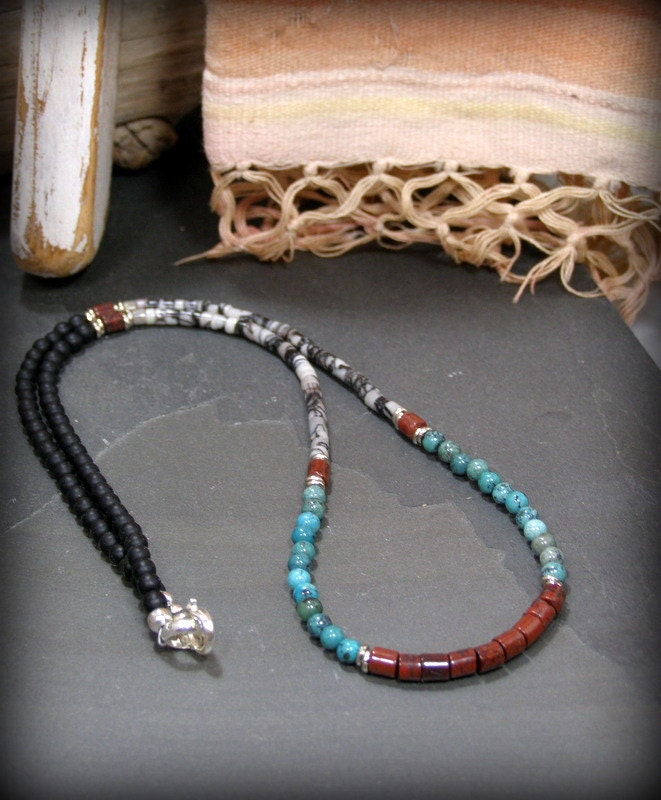 Mens Native American Beads