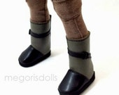 Heart 4 Heart Doll Boots Green Brown