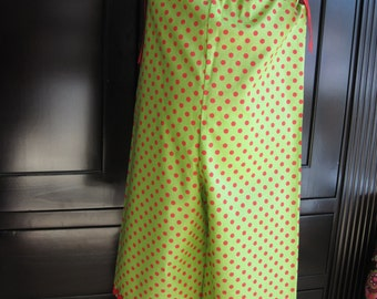 Red on Green Christmas Romper - Size 2