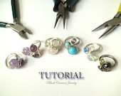 Tutorial - Wire Ring with Two, Three or Four Beads