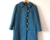 1960s Teal Coat