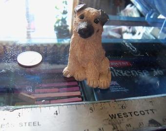 vintage dog figurine german Shepard