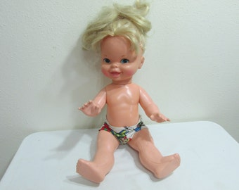 Mattel Doll 1972 Quick Curl Cathy