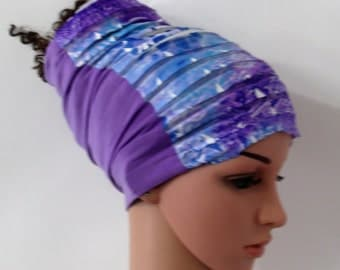 Lavender Love / Locs  Hugger - Dread Locs Socks- Fashion Headband-Choose A  Length