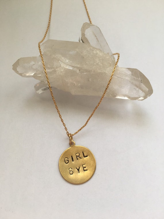 Girl bye necklace