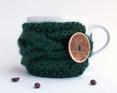 Coffee Mug Cozy, Coffee Cozy, Tea Cozy, Coffee Cup Cozy, Coffee Cup Sleeve, Coffee Sleeve, Knit Coffee Cozy Gifts Under 20