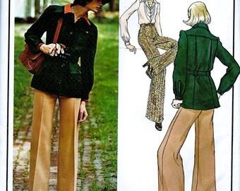 Vogue Paris Original  Pattern 2946  by Designer: JEAN PATOU -   Misses' Misses' Jacket, Blouse and Pants * Size 14, bust 36