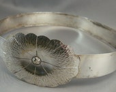 Vintage Silver Buckles, Southwest Woman's Silver plated Belt Buckles, Luxury Silver Buckles, Elegant Silver Dress Belt Buckles, Mod Buckles