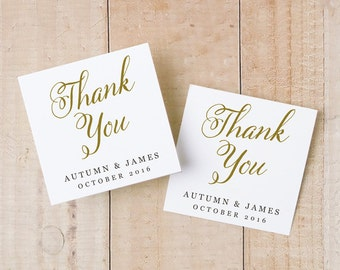 Printable Wedding Favor Tags, Favor Tag Template, Romantic Script, Word or Pages, Favor Label, 2x2, INSTANT DOWNLOAD