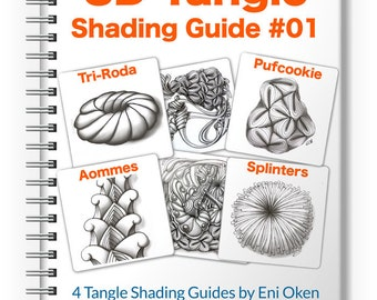 3D Tangle Shading Guide 01 - Download PDF Ebook Tutorial