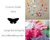 Butterfly Mobiles, Baby Mobiles, Crib Mobiles, Hanging Art Mobiles, Custom Mobiles for Nursery