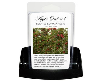 APPLE ORCHARD Soy Melts // Wax Tarts // Soy Tarts // Candle Tarts // Melting Tarts // Scented Tarts // Dye Free