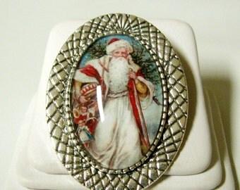 Saint Nicholas brooch/pin - BR10-063