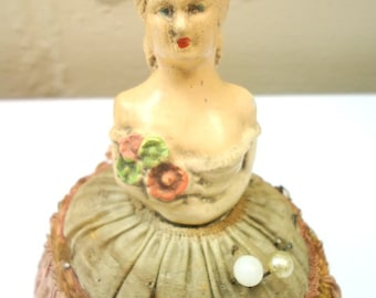 Victorian Antique Pin Cushion Doll