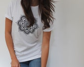 Mandala T-Shirt - Wide fit T-Shirt with Mandala print
