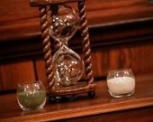 The Legacy Sand Ceremony Hourglass by Heirloom Hourglass