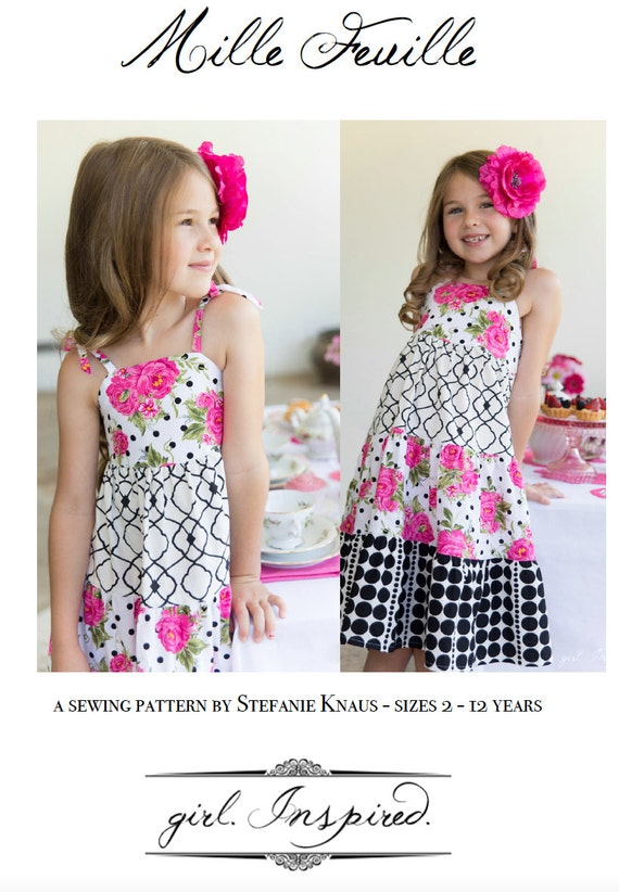 Mille Feuille Dress Pattern (PDF FILE ONLY)