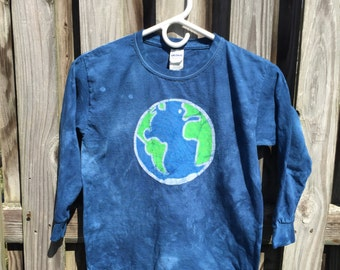 Earth Day Shirt, Kids Earth Shirt, Boys Earth Day Shirt, Girls Earth Day Shirt, Boys Earth Shirt, Girls Earth Shirt, Globe Shirt (Youth S)