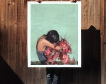 In Between . extra large artwork giclee print