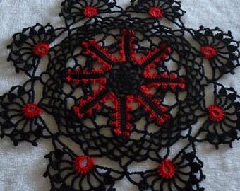 Halloween Crochet Beautiful Doily