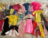 Vintage Lot of Barbie Clothes 1970s and 1980s Era
