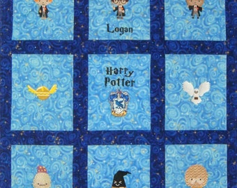 Harry Potter Quilt Etsy