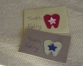Coin pouch,tooth fairy felt envelope with pocket for tooth,tooth fairy pillow,boys tooth envelope,girls tooth envelope,HANDMADE BY FRALINE