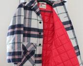 Vintage Plaid Lakeland Wool Jacket