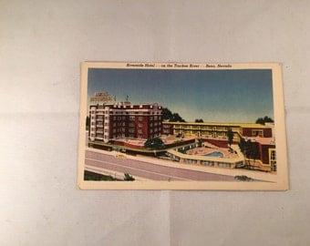 Vintage Postcard - Riverside Hotel - Reno, Nevada