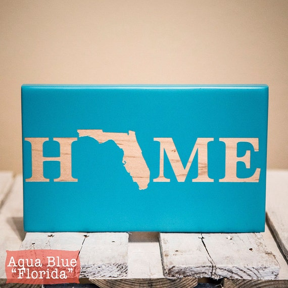Home state sign new home sign new home housewarming gift for New home sign