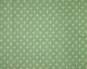 Fat Quarter, Pale Green Cream, Quilting Cotton Print Fabric, Crosshatch, 22 x 18, B44