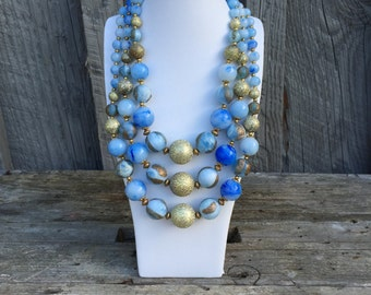 1960s Necklace and Earring Set